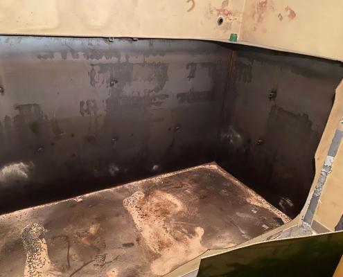 Varno odstranjevanje cisterne