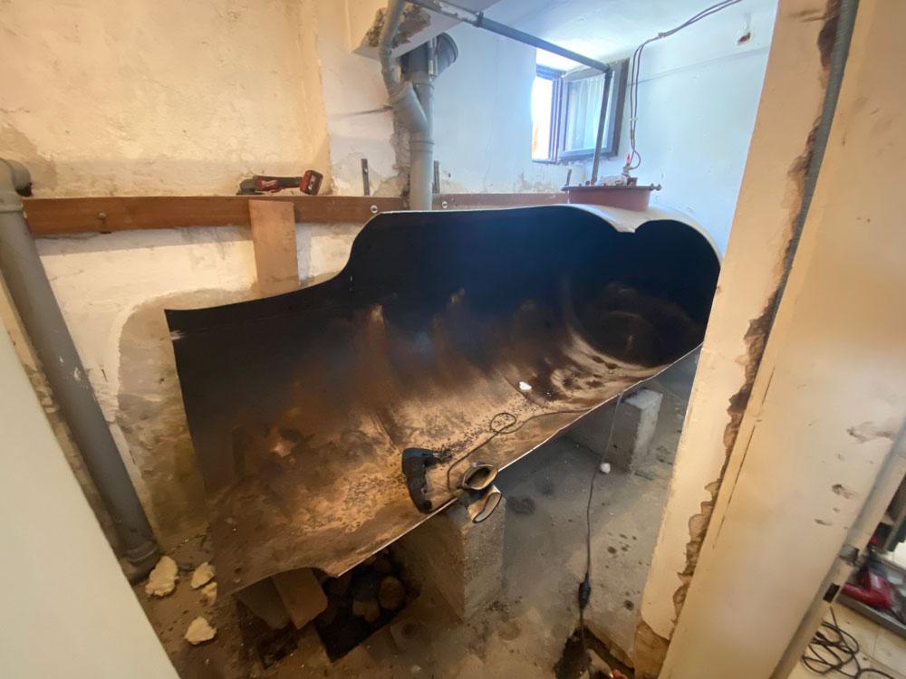 Varen razrez cisterne za kurilno olje
