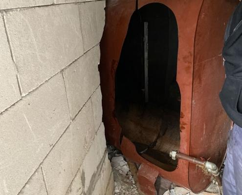 Odstranjevanje cisterne za olje