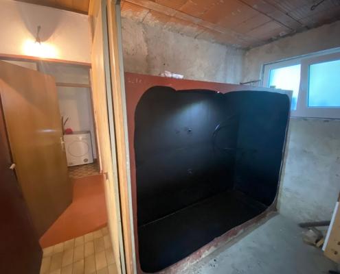 Razrez klasične cisterne